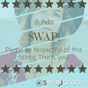 Swap for duhda!